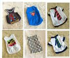 Cute Summer Small Pet Dog Clothes T Shirt Shirts Apparel Coat size S-M US SELLER