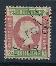 S2665 - HELIGOLAND - Timbre N° 7 Oblitéré