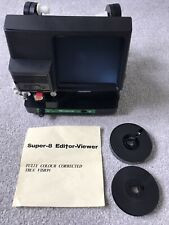 Greens Super 8 Film Editor Viewer. Fully Colour Corrected + Splicer + Tape