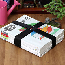 12pcs Basic Book Strap Set Organizer Holder Books Clean Move