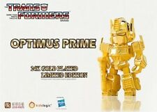 Transformers 24K Gold Plated Limited Edition Optimus Prime By Kids Logic
