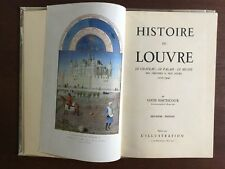 Histoire Du Louvre - L. Hautecoeur - 1940 (2e Edition) - Cuir Tbe