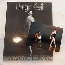 Birgit Keil - Portrait einer Ballerina - + Originalfoto mit Vladimir Klos - 1991