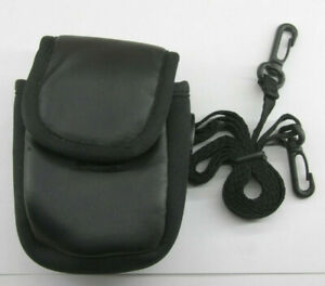 """Unbranded Small Camera Case 3 1/4 x 5 1/4 x 2 1/4"""" Black - USED P04"""