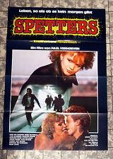 SPETTERS - A1-FILMPOSTER KINO -German 1-Sheet´80 Paul Verhoeven