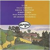 Elgar: Cello Concerto/Enigma Variations, , Very Good