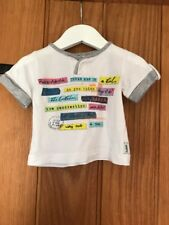 Ted Baker Lovely Baby Boys T Shirt Age 0-3 Months In Excellent Condition