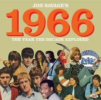 JON SAVAGE 1966-THE YEAR THE DECADE EXPLODED 2 CD NEW+