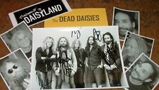 The DEAD DAISIES  Autographed photo & Photos -Very Collectible