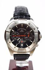 Russian Mechanical Chronograph Poljot 3133 watch Sturmanskie AVIATOR Titanium Bl