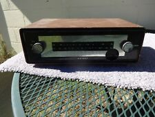 Vintage Knight AM FM Tuner For Parts or Repair