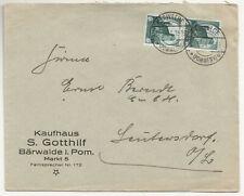 Promotional Letter Department Store Gotthilf Bärwalde Pommern 1934! (B7