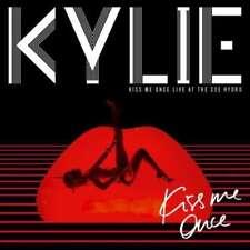 KYLIE MINOGUE - KISS ME ONCE vivre à the sse hydro NEUF CD+DVD
