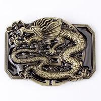 Oriental Dragon Belt Buckle Western Cowboy Motorcyclist (DRGN-02)