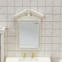 Simulation 1:12 1:6 Scale Dollhouse Miniature Mirror Frame Doll House Tiny Scene