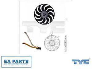 Fan, radiator for AUDI SEAT TYC 802-0051 fits Left