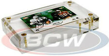 """(5) BCW-A100 BCW 1"""" Thick Acrylic Trading Card Holder Box Case Storage Protect"""