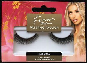 Ferne McCann PALERMO PASSION False Eyelashes Thick Glamorous Volume With Glue