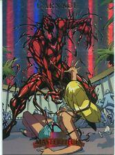Marvel Masterpieces 2007 Fleer Foil Parallel Base Card #17 Carnage