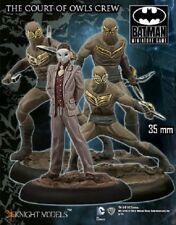 The Court of Owls Crew 1 3/8in Batman Miniature Game Knight Models Skirmish Dc