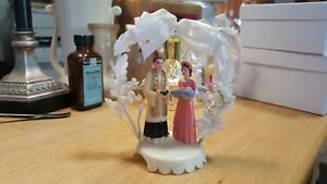 Vintage Cake Topper with very nice - red dress