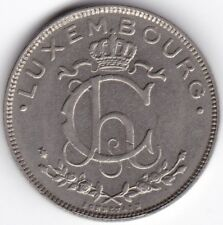 More details for 1924 luxembourg 2 francs | pennies2pounds
