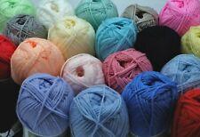 Lot de 20 pelotes de laine idéal layette bébé Bambi - LIVRAISON GRATUITE !!!