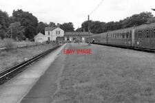 PHOTO  1979 EPSOM DOWNS RAILWAY STATION SURREY THIS STATION WAS LAID OUT ON THE