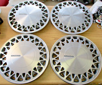 Genuine Plymouth Acclaim Voyager Caravan 14 inch metal hubcaps wheel covers set