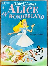 Alice in Wonderland #331 (Dell May 1951) Walt Disney 52 PAGES -ALL COMICS