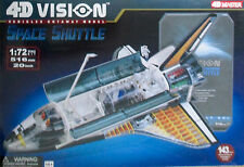 1/72 AOSHIMA'S 4D VISION CUTAWAY SPACE SHUTTLE MODEL