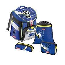 Hama Step by Step Schulranzen Schulrucksack  Set 4 teilig Comfort Fußball Soccer