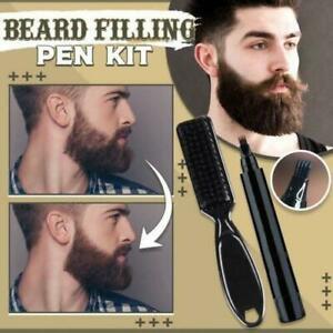 Beard Filling Pen Kit Salon Hair Engraving Styling Eyebrow Beard Dye Pen
