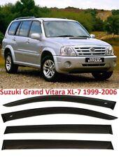 Suzuki Grand Vitara ХL-7 1999-2006 Window Black Visor Rain Sun Guard Deflectors