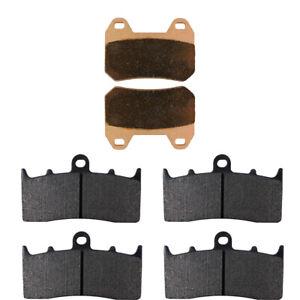 Front & Rear Brake Pads for BMW K1200LT Evo Integral ABS 2000-2009 R1200CL 02-04