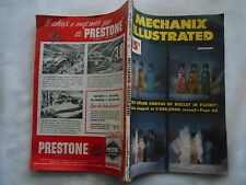 MECHANIX ILLUSTRATED Magazine-DEC,1948-FIRST COLOR PHOTOS OF BULLET IN FLIGHT!