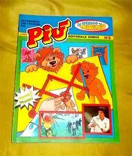 PIU' E IL SUO GIOCO N.8 SETTIMANALE EDITORIALE DOMUS '80