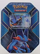 Pokemon 2015 Hoenn Power SWAMPERT EX Tin Sealed 4 XY Booster Packs Promo XY55