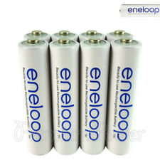 8 x Panasonic Eneloop AAA batteries 750mAh Rechargeable Accu Ni-MH HR03 Phones