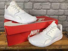 Nike UK 4 EU 36.5 Blanc Brillant Cuir Jordan Eclipse Boys Youth Trainers