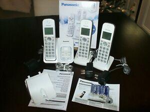 Panasonic KX-TGD533W Expandable Cordless Phone with Dect 6.0 Plus Technology