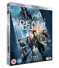 Maze Runner The Death Cure 4k UHD Blu-ray 2018