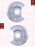 Spritzblech Bremsstaubblech Ankerblech Satz hinten Mazda 3 Bj. 2003-