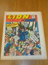 LION & THUNDER 17TH FEBRUARY 1973 BRITISH WEEKLY COMIC FLEETWAY^