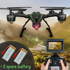 JXD 510G FPV RC Quadcopter Drone with 2.0MP Camera Barometer Set Height+2Battery
