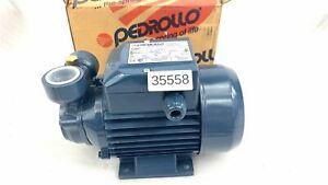 PEDROLLO PUMP 0,37 KW PQ 60-50/60 Kreiselpumpe mit Peripherallaufrad