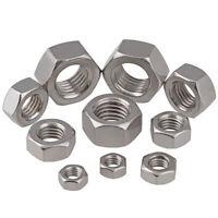 Metric Thread 304 Stainless Steel Hex Nuts M1 M1.2 M1.4 M1.6 M2 M2.5 M3 M4-M10
