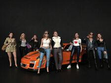 """""""Ladies Night"""" 8pc Figur Set 1/24 American Diorama 38289,90,91,92,93,94,95,96"""