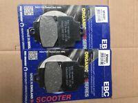 Piaggio MP3 500 (2014 to 2016) EBC Organic FRONT Disc Brake Pads -SFA681 2 Sets