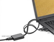 VGA To HDMI Output 1080P 60Hz HD+Audio TV AV HDTV Video Cable Converter Adapter
